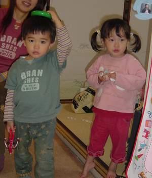 2005.11.14 さいきくんとのんちゃん.JPG