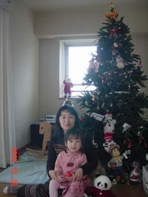 2005.12.26 M家のツリー.JPG