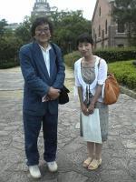 2006.7.23 元永定正氏と姫路で(縮小版)