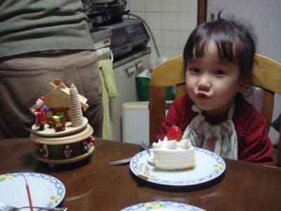 のん4歳誕生日2