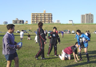 Rugby Clinick in Kawaguchi 008