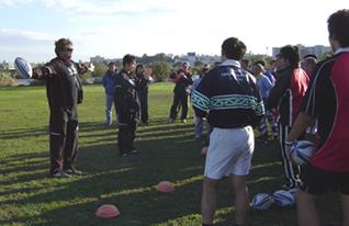 Rugby Clinick in Kawaguchi 006