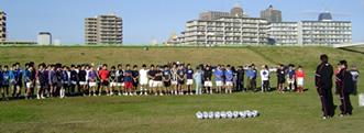 Rugby Clinick in Kawaguchi 005