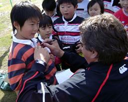 Rugby Clinick in Kawaguchi 004