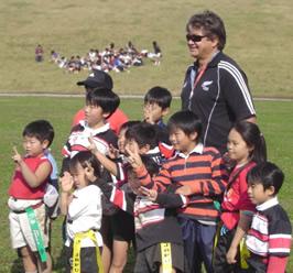 Rugby Clinick in Kawaguchi 003