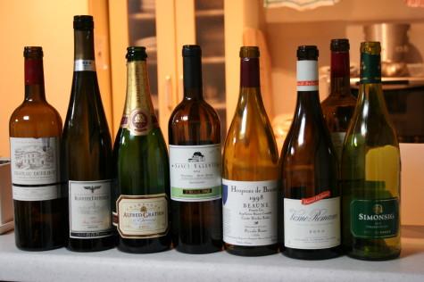 空いたワイン
