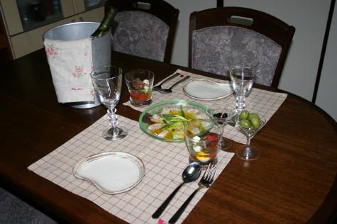 カルパッチョ&サラダ