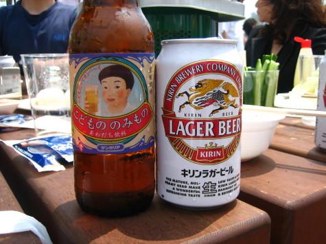 大人ビールと子供ビール