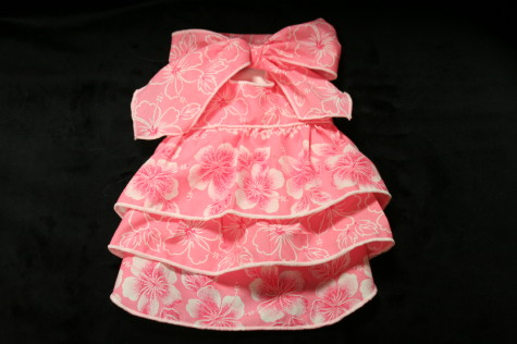アロハワンピ(ピンク)