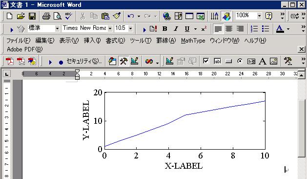 WORD2000にwmf