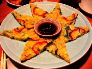 韓国料理(チヂミ)
