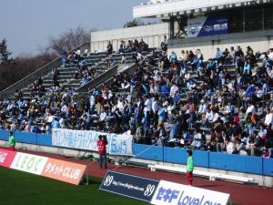 横浜FCコール裏