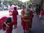 タイの獅子舞2