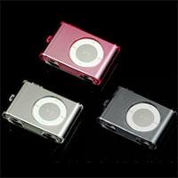 iPod shuffle 2nd クリスタルジャケット 3色 PFJ-51