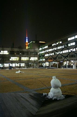 雪だるまの視線