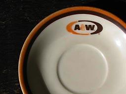 A&Wのカップ&ソーサーのお皿
