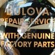 """BULOVA"" LIGHTING ADV. CLOCK"