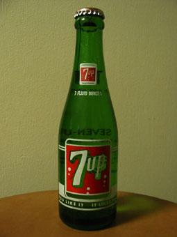7UP bottle