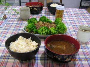 19日の夕食1