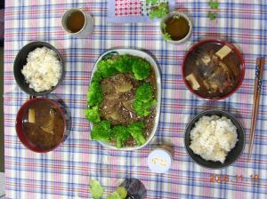 19日の夕食2