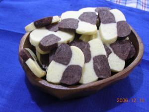 ボックスクッキー(市松)