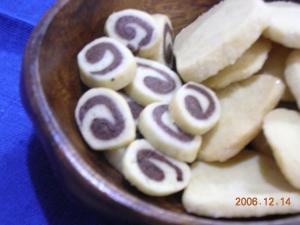 ボックスクッキー(渦巻き)