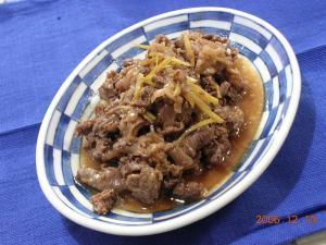 牛肉の時雨煮2