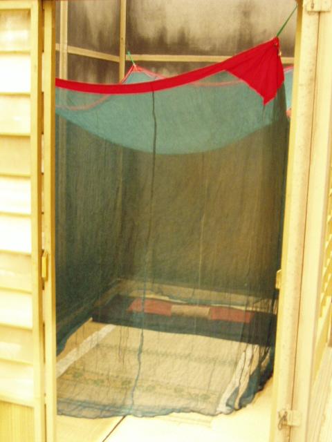 『団七内』の蚊帳