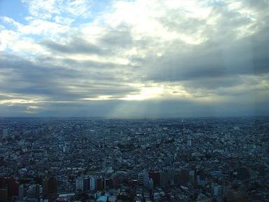 東京は白い街ですね