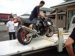 このバイクが!