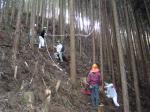 木こり体験 その2