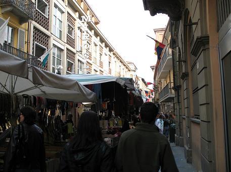 アルバ中心街