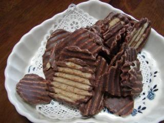 チョコレートポテトチップ