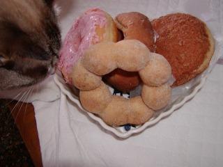 ミーくんとドーナツ