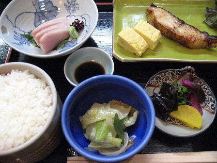 しま川 焼魚膳