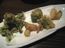 春野菜の天ぷら?
