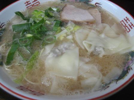 花園亭ワンタン麺