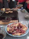 地鶏・アフター(すんごいおいしそう!)
