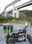多々羅大橋のすぐ下がキャンプ場