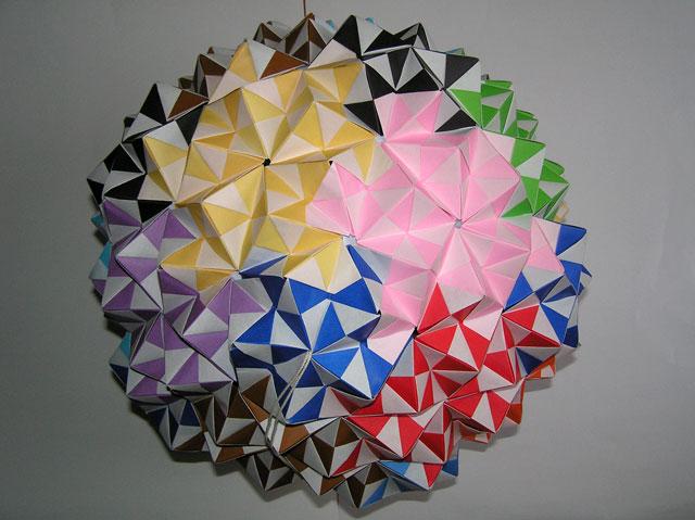 ハート 折り紙:ボール 折り紙-yasuraginomori.blog8.fc2.com