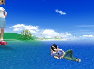 海のうえ?