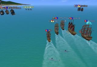 3艦隊共に鮫に襲われる
