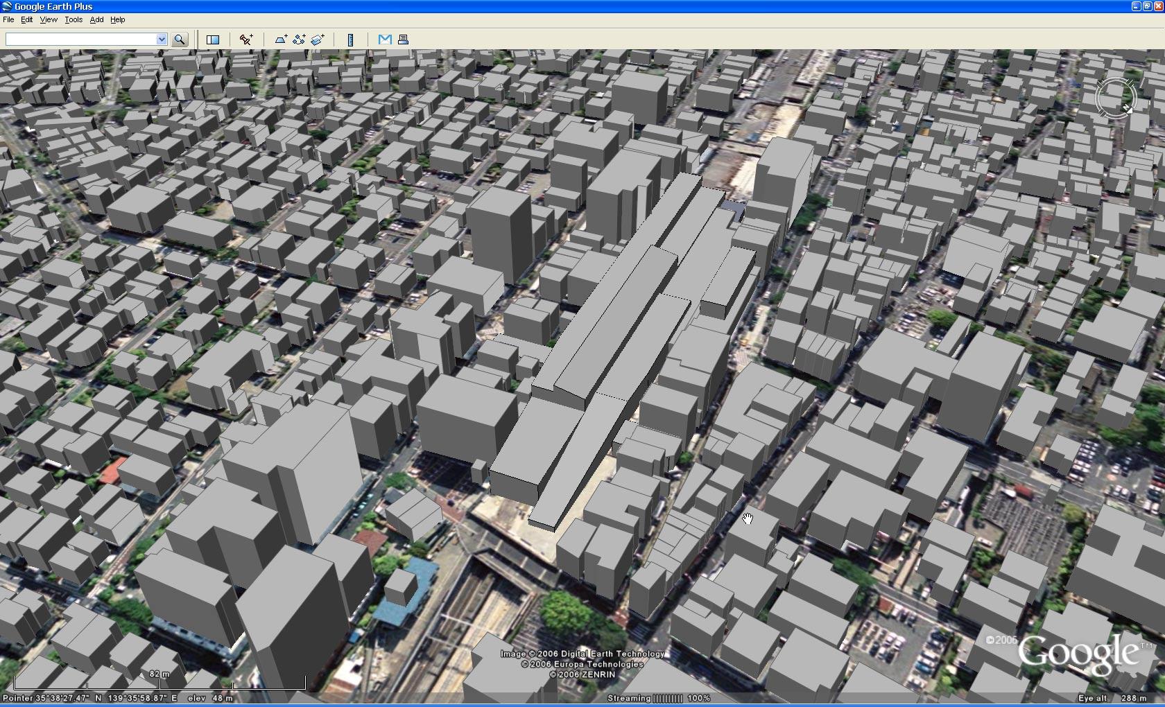 Z Surfer S Blog Google Earthにボリュームモデルを置く