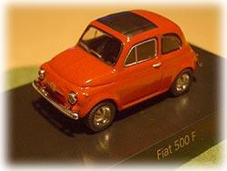 FIAT 500F オレンジ