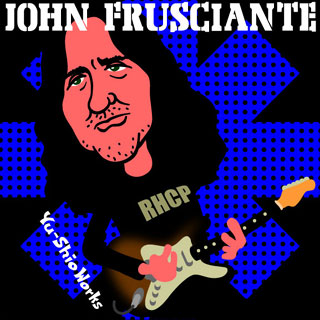 John Frusciante of Red Hot Chili Peppers