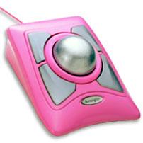 Kensington Expert Mouse Pink